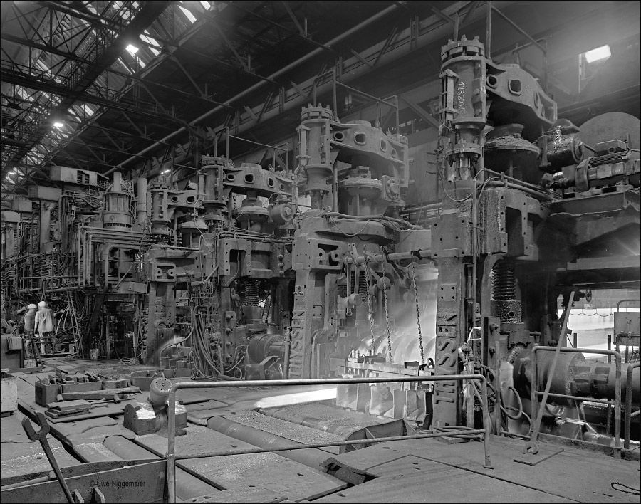 steel mill. duisburg germany