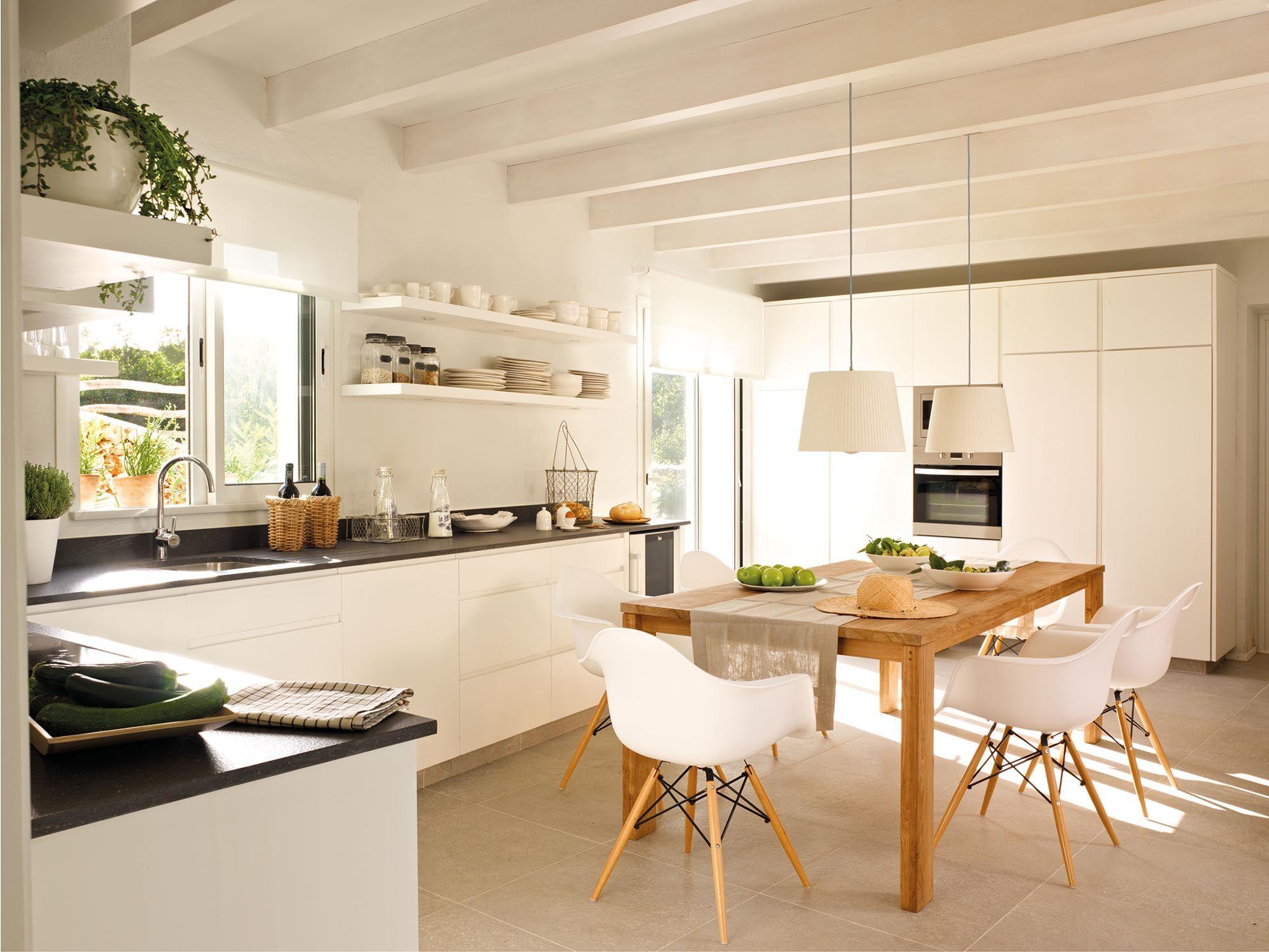 Todo En Blanco Muebles De Cocina Cocinas Y Banos Y Decoracion