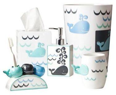 kid bathroom accessories | Kids shower curtain, Whale ...
