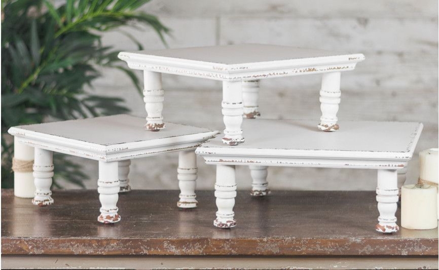 Wood Table Risers Display Stand In 2019 Decor Diy Home