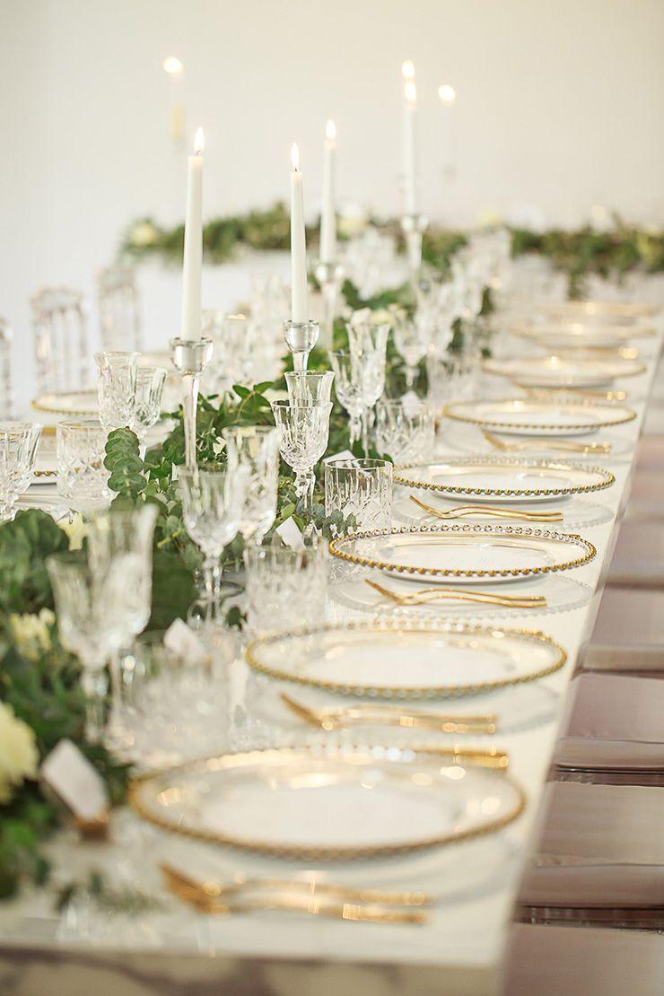 20 Gorgeous Wedding Reception Centrepiece Ideas | Greenery ...