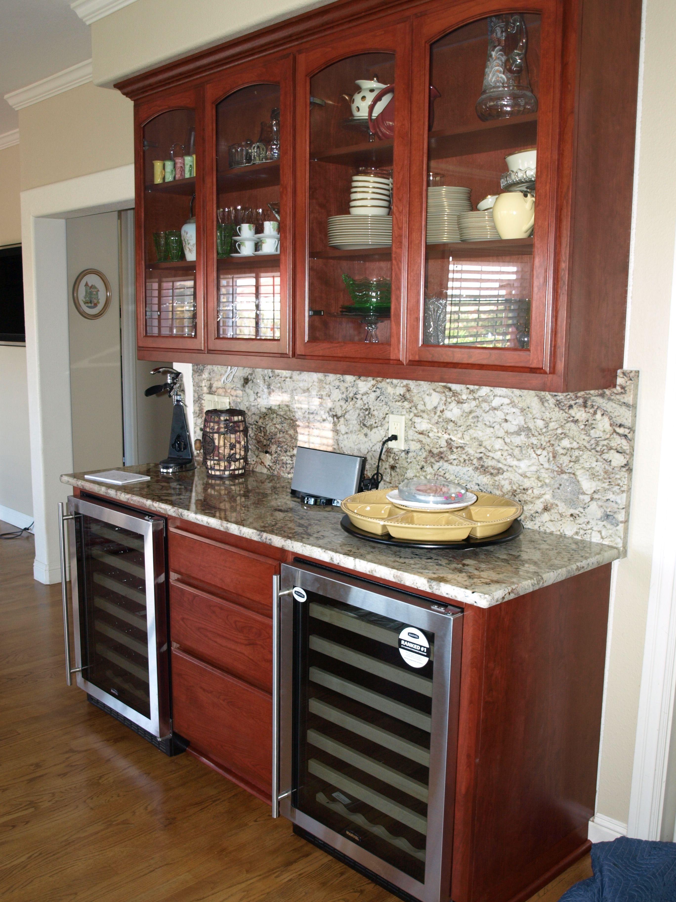 North County Kitchens, Petaluma, CA, Cherry Cabinets in ...