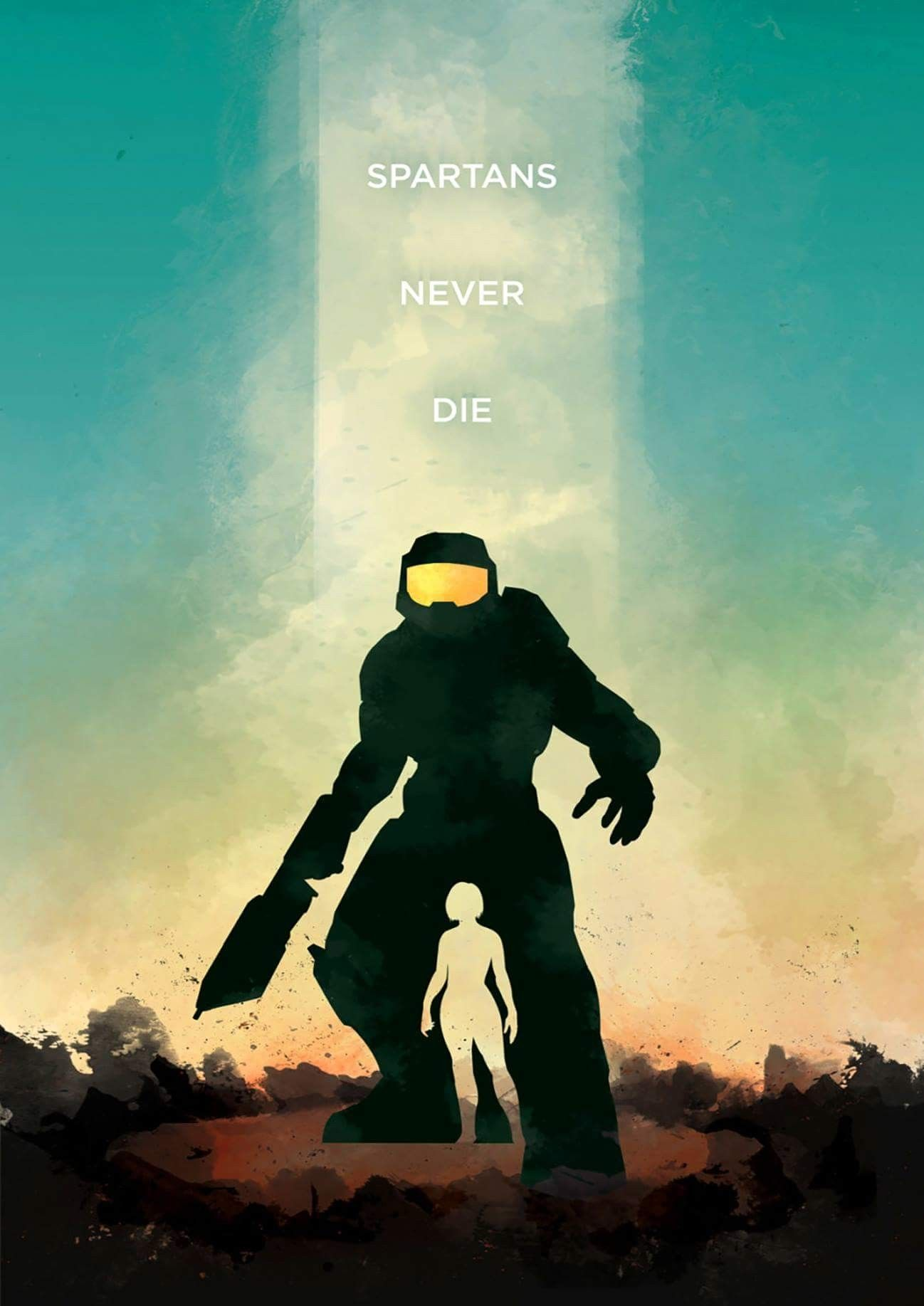 Pin by JasonJ on gaming | Halo game, Halo poster, Gaming posters