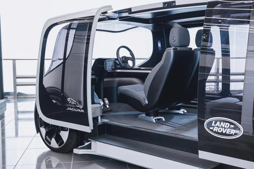 Jaguar Land Rover Unveils Electric City Car Project Vector In 2020 Jaguar Land Rover Land Rover City Car