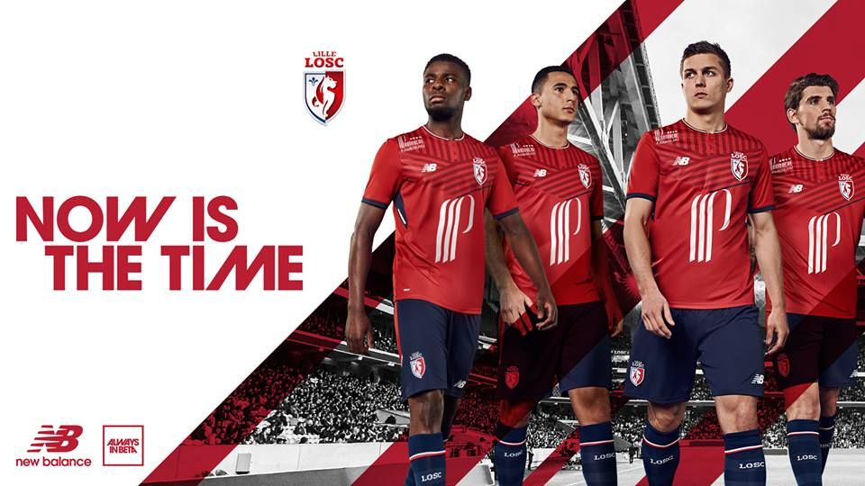 Camisas do LOSC Lille 2017-2018 New Balance | Refs ...