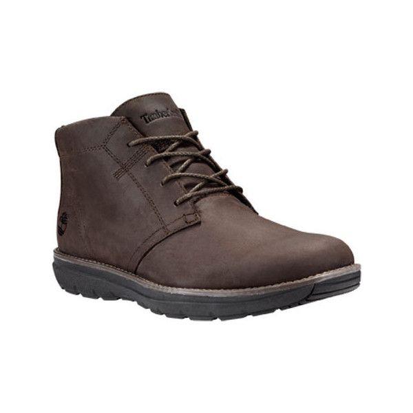 Men's Timberland Edgemont Chukka Boot Brown Nubuck Ankle
