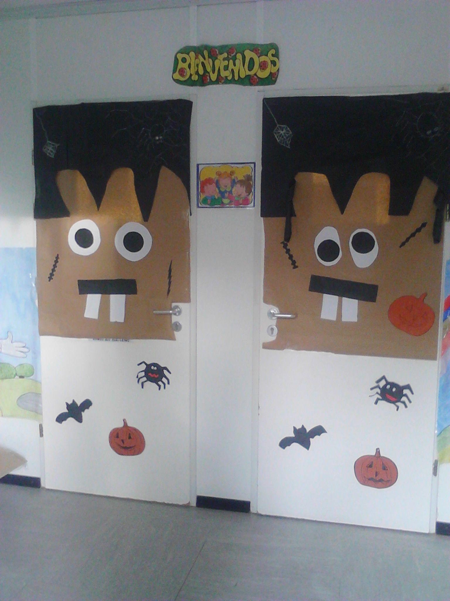 Imagenes puertas decoradas halloween buscar con google for Puertas decoradas con dinosaurios