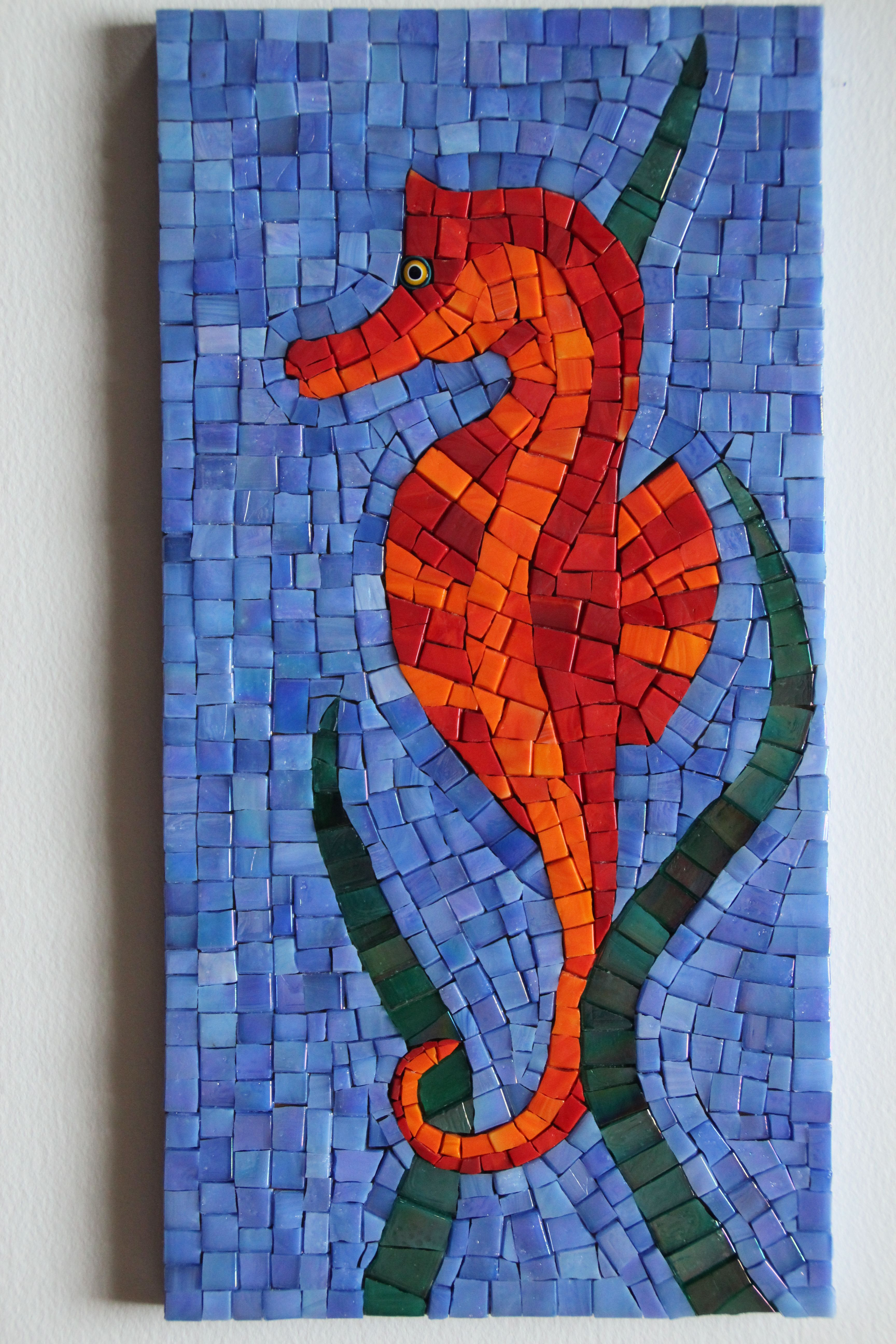 Mosaic seahorse by B. Imhauser A turtle and a crab pieces like this ...