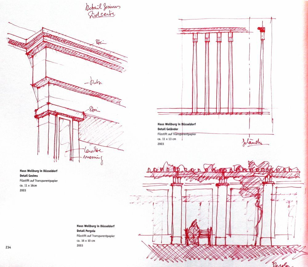 100 Architectural Drawings by Famous Architects V 2 | World