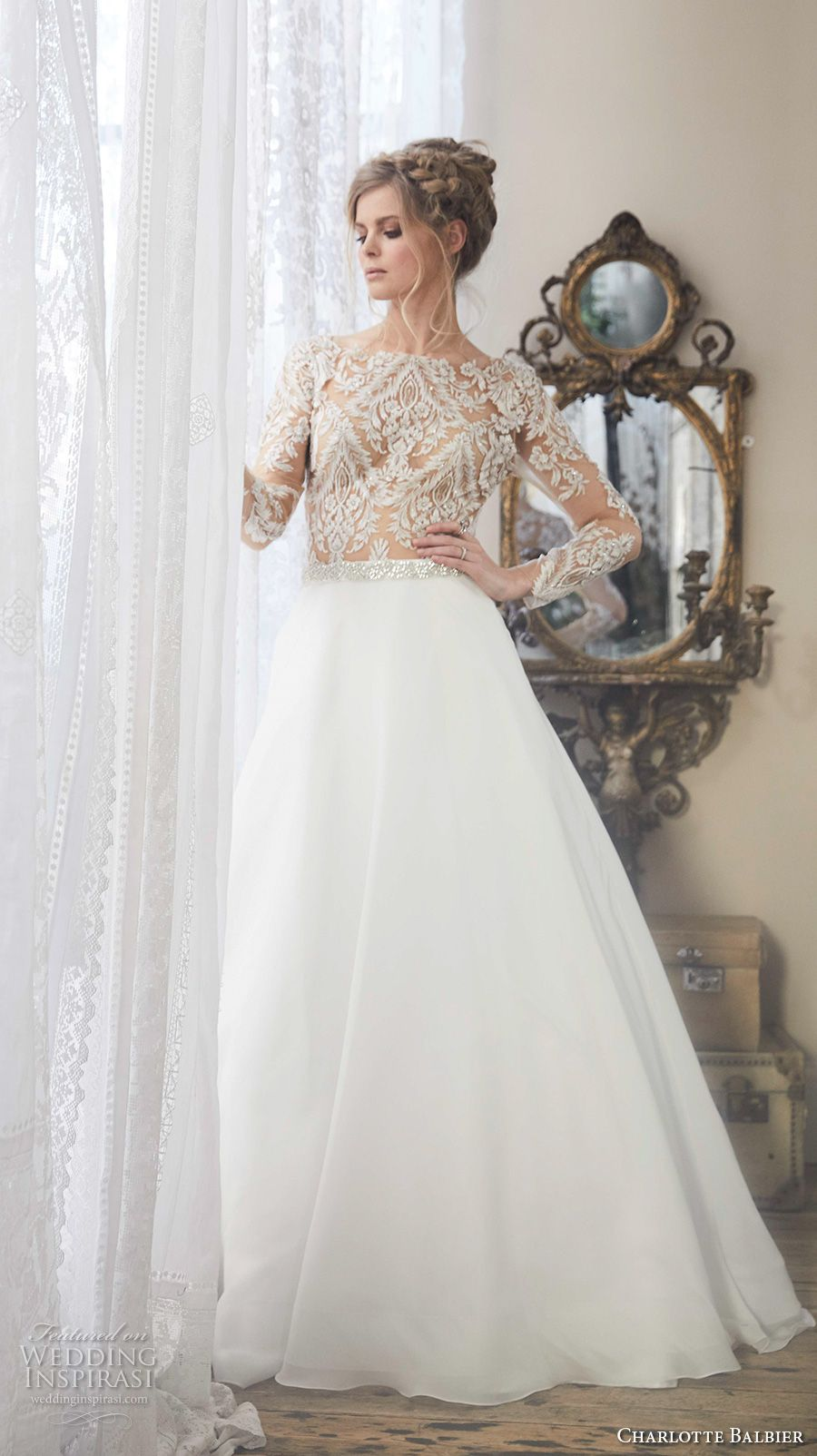 Vivienne westwood wedding dress 2018 with lace