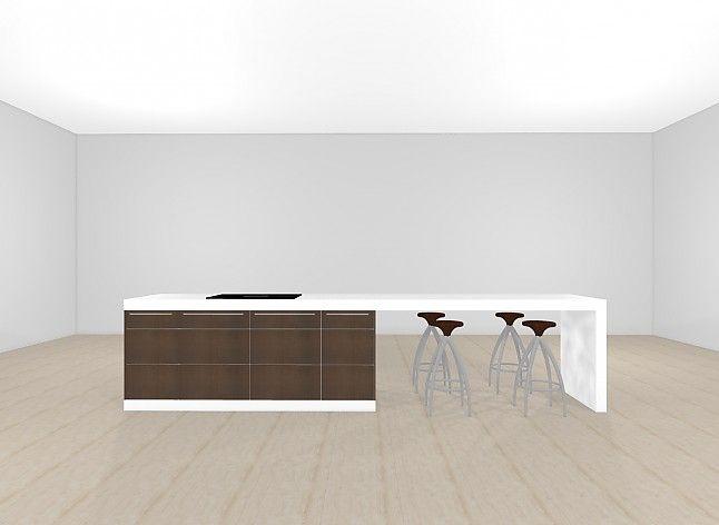 bulthaup-Musterküche bulthaup Kücheninsel mit Sitzgelegenheit ... | {Kücheninsel mit sitzgelegenheit 68}