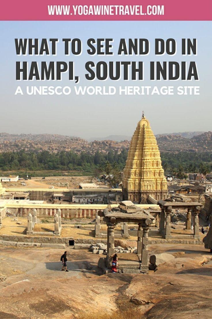Explore Hampi in South India The Largest OpenAir Museum