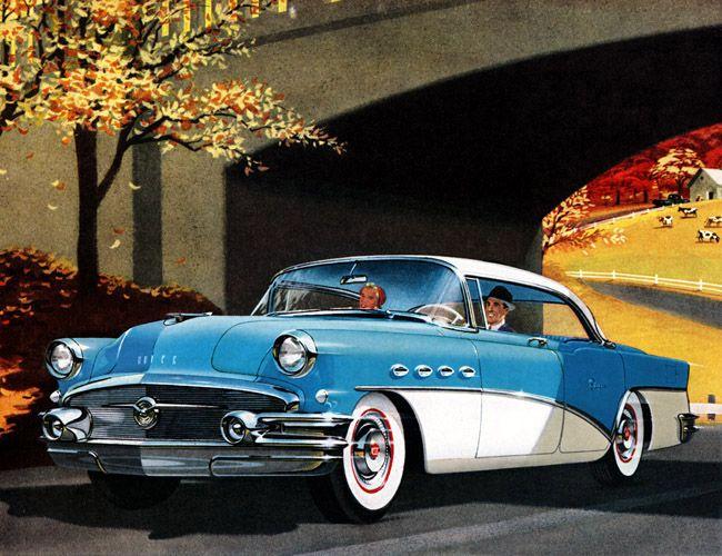 Classic Car Art Vintage Ads Buick Super