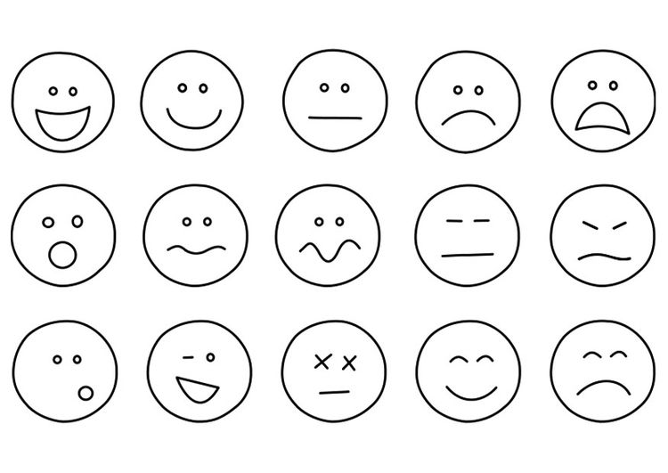 coloring page emotions | emoji coloring pages, emotion