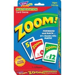 ZOOM!™ Multiplication Card Game T76304