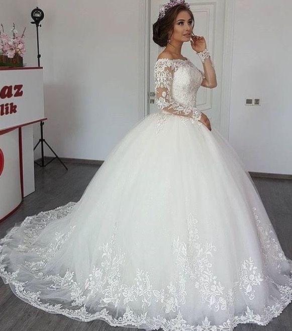 Modern Wedding Dresses Us Rukava Svadebnogo Platya Dlinnye Svadebnye Platya Kruzhevnoe Svadebnoe Plate