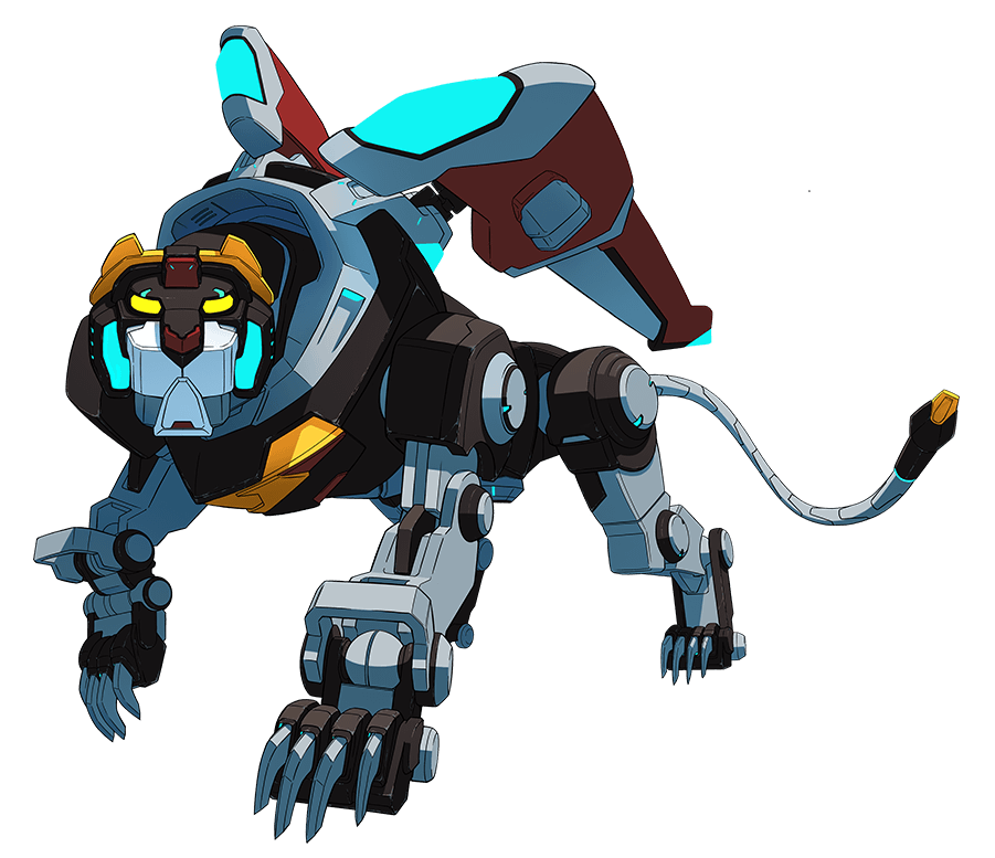 Black Lion From Voltron Legendary Defender Voltron Legendary