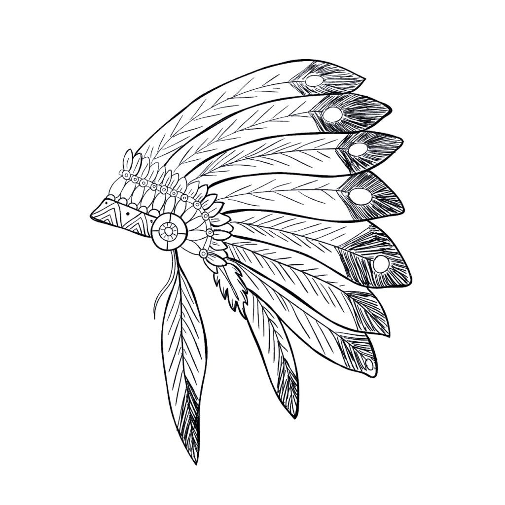 Traditional and native american thanksgiving coloring pages