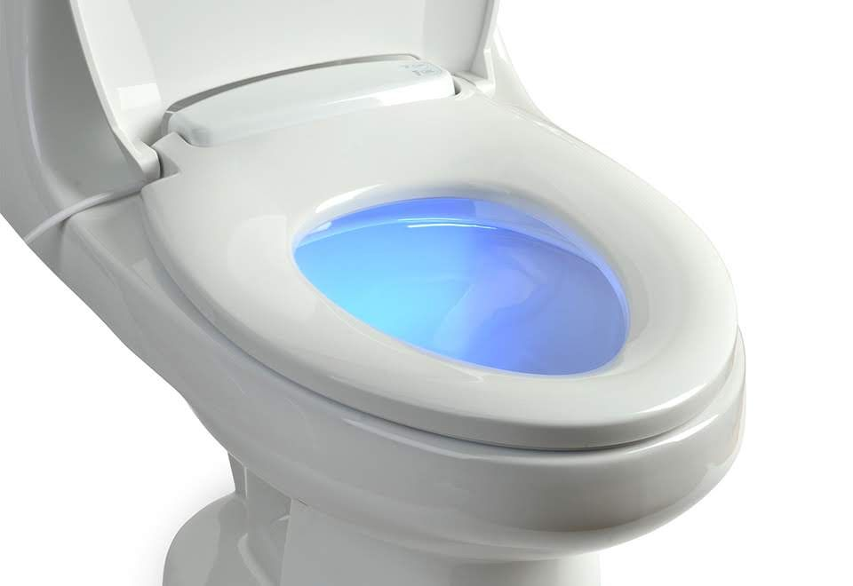 Heated Toilet Seat W Nightlight Sharper Image With Images