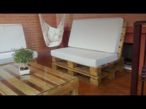 Como Hacer Sofas Con Palets De Madera