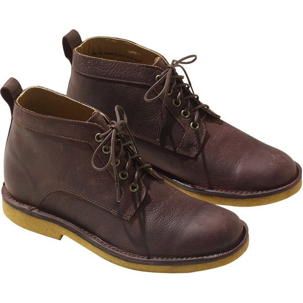 Leather Boots Male