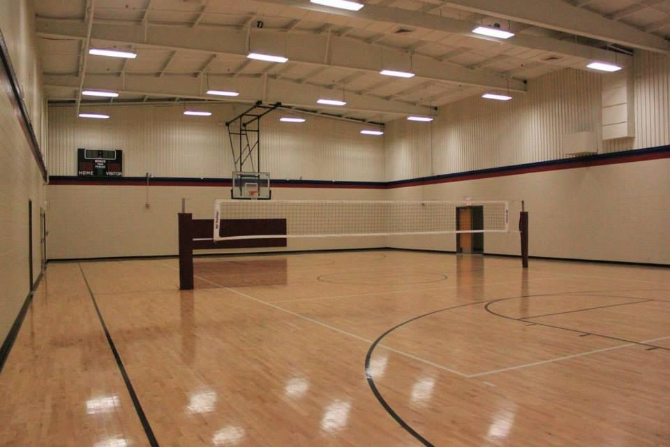 Indoor Volleyball Court-Parquet Flooring | Sports Playgrounds ...