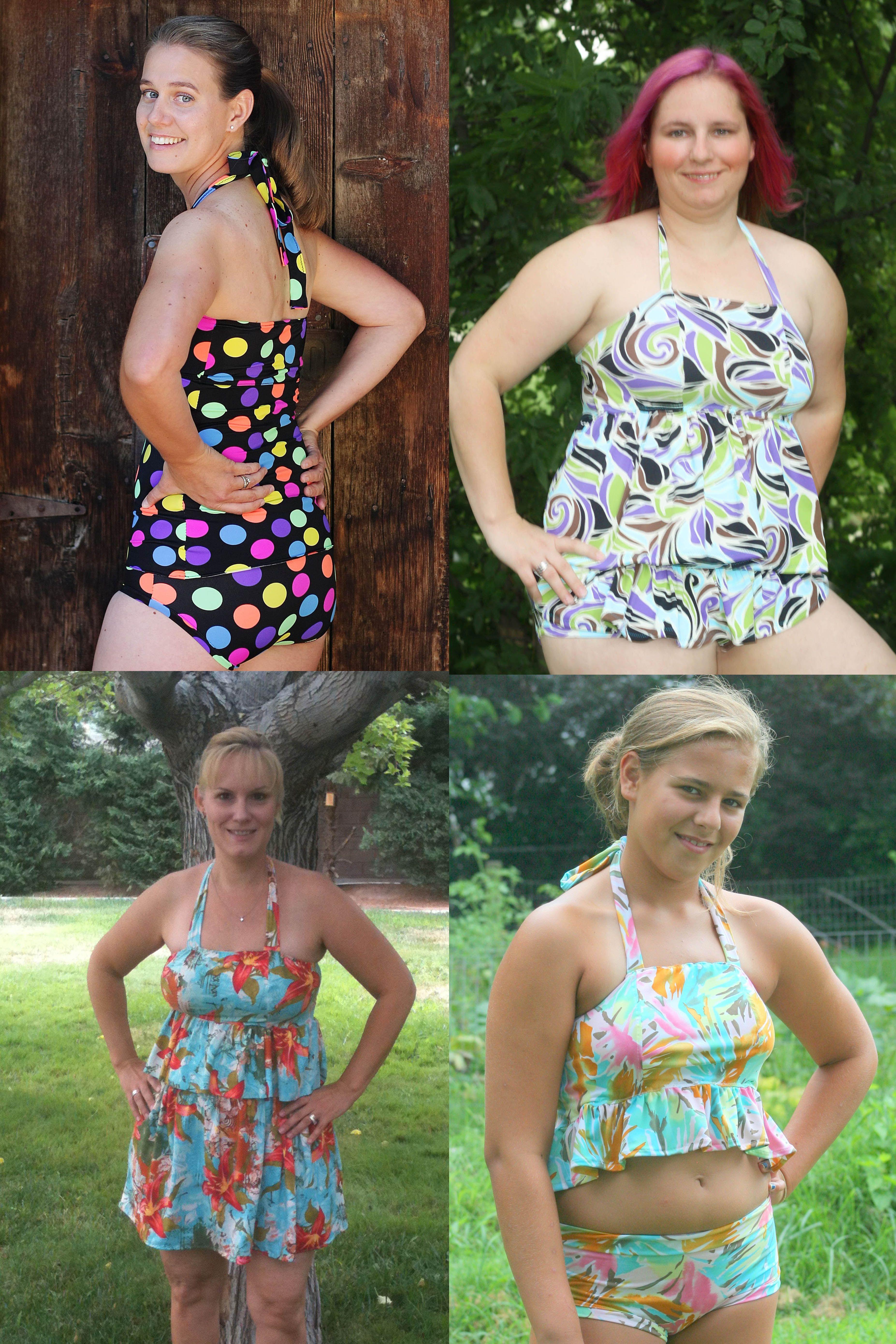 Naomi\'s Women\'s Ruffle Bikini PDF Pattern