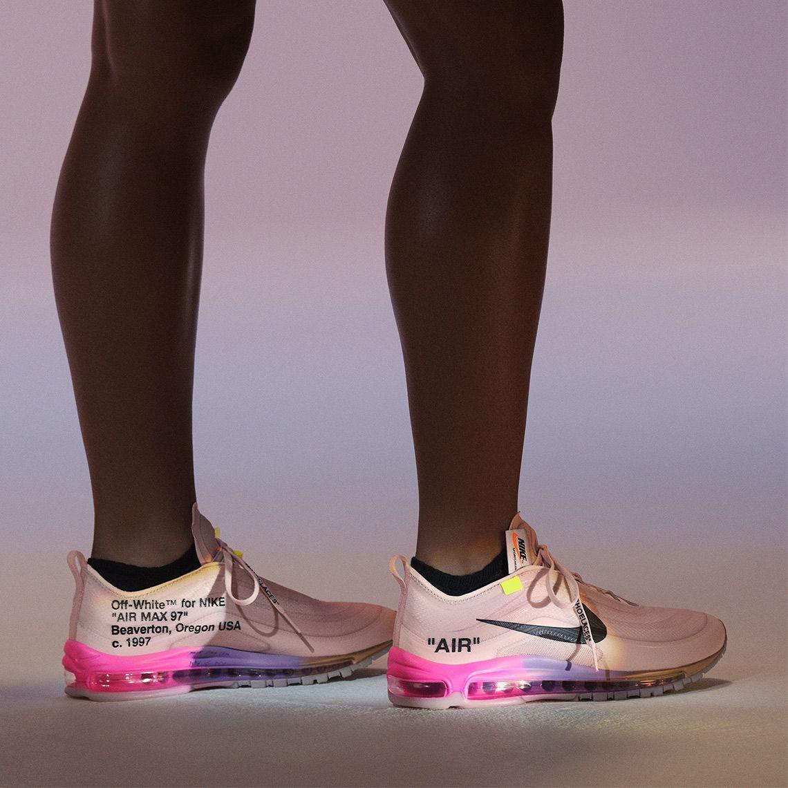 Off White Virgil Abloh Serena Williams Nike Air Max 97 Blazer Sneakernews Com Off White Shoes Nike Air Max 97 Off White Virgil Abloh