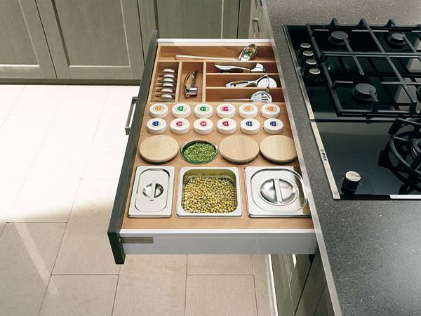 Those Of You Who Have Small Kitchens Must Be Smart With Storage Cool Kitchen Organization Ideas Inspiration Design