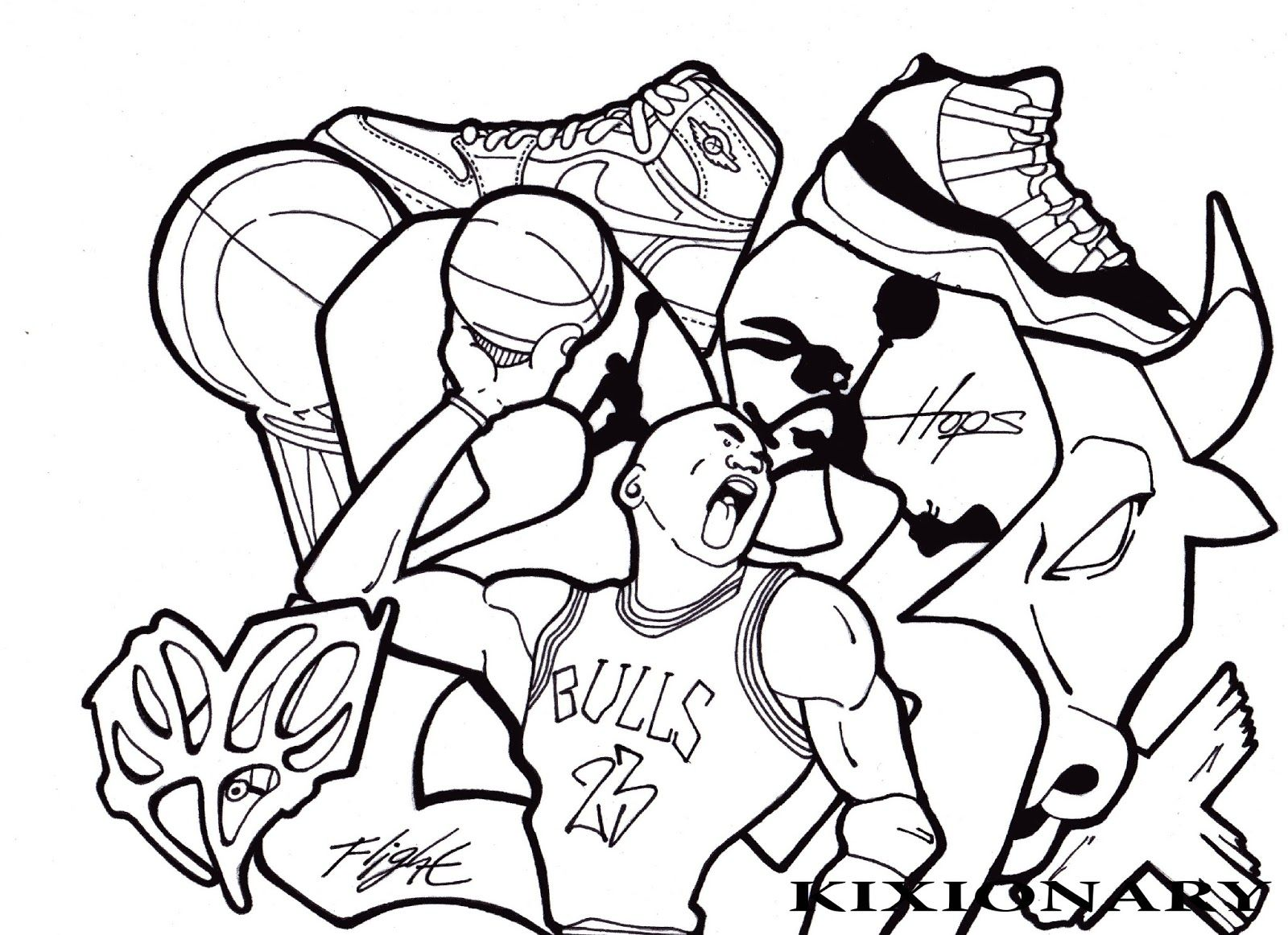 Laugh While Carrying The Ball Coloring Pages For Kids Coloring Pages For Kids