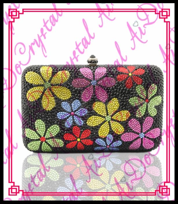 198.00$  Buy here - http://alilln.worldwells.pw/go.php?t=32674788031 - Aidocrystal funky evening clutch bag new style fashion ladies handbags 100% handmade