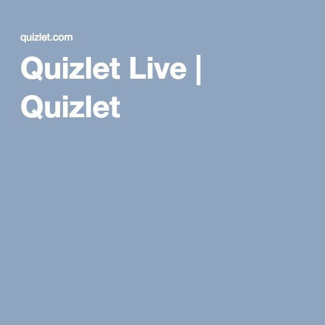 Quizlet Live Quizlet Vocabulary Improve Vocabulary Teaching