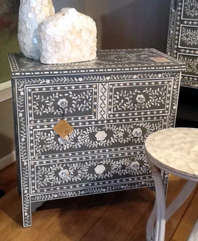 Faux Bone Inlay Chest From Powell S Ay Collection Old Furniture Decor Home