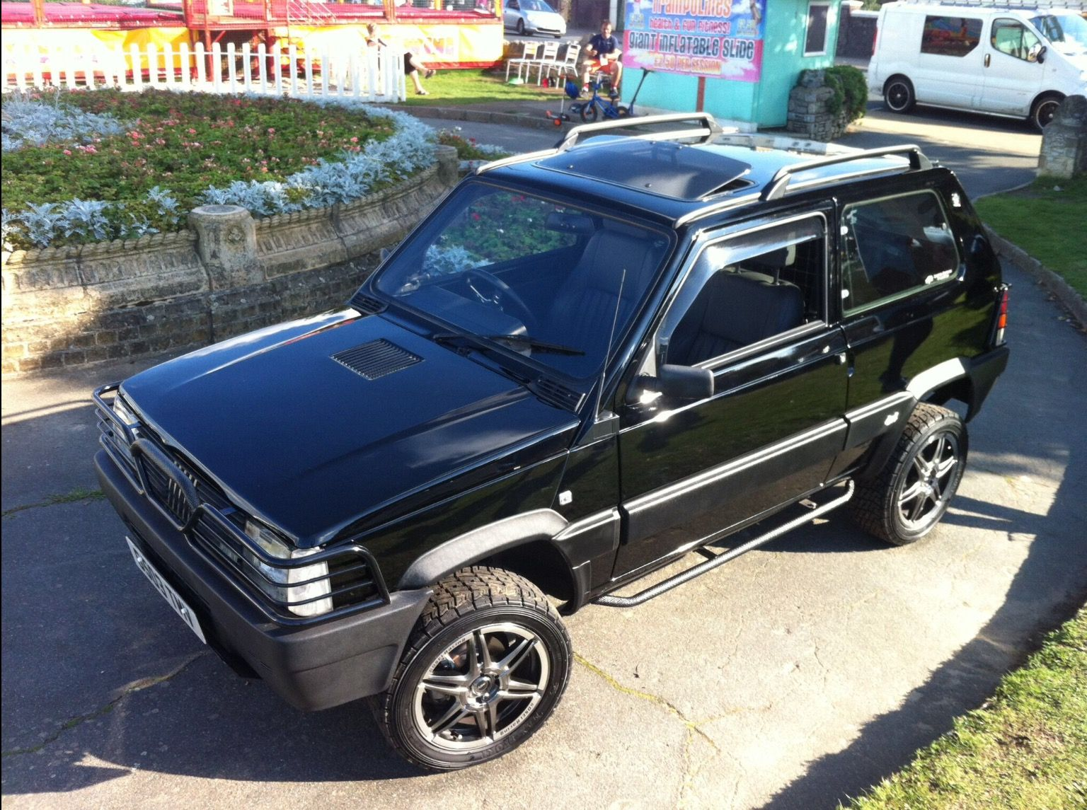 classic fiat panda 4x4 141a modified and built by limited editions unlimited panda projecto. Black Bedroom Furniture Sets. Home Design Ideas