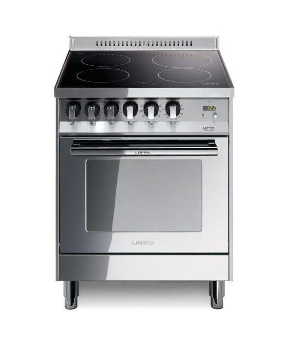lofra cucina maxima 60x60 cm 4 fuochi forno elettrico inox pl66mft ... - Cucina Quattro Fuochi