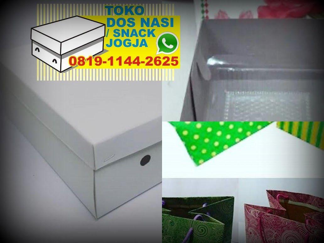 Jual Box Nasi Mika Box Nasi Cetak Jual Kardus Snack Jogja Nasi