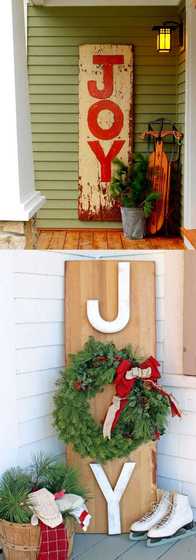 Outdoor porch christmas decorations  Gorgeous Outdoor Christmas Decorations  Best Ideas u Tutorials