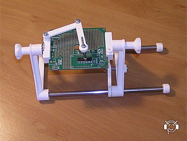 Pcb Holder By Branez Thingiverse Electronica