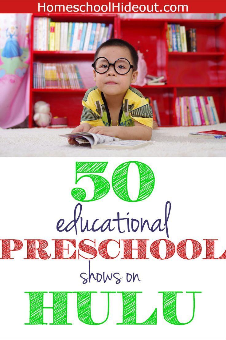 50 educational preschool shows on hulu | ihn preschool | pinterest