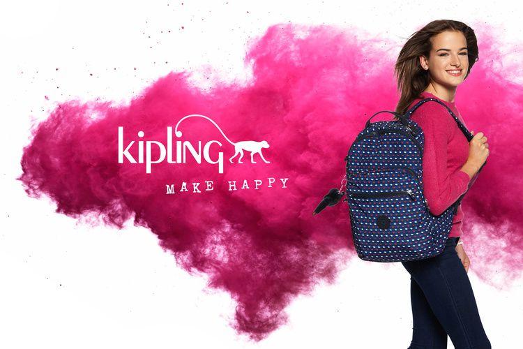 Kipling - Make happy // Photography: Stephen Mattues & Tim Luyten // Producer: Michael Gardner // Agency: Schawk! Retail Marketing
