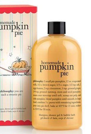 Halloween Beauty Products Thefashionspot Pumpkin Scent Halloween Beauty Philosophy Shower Gel