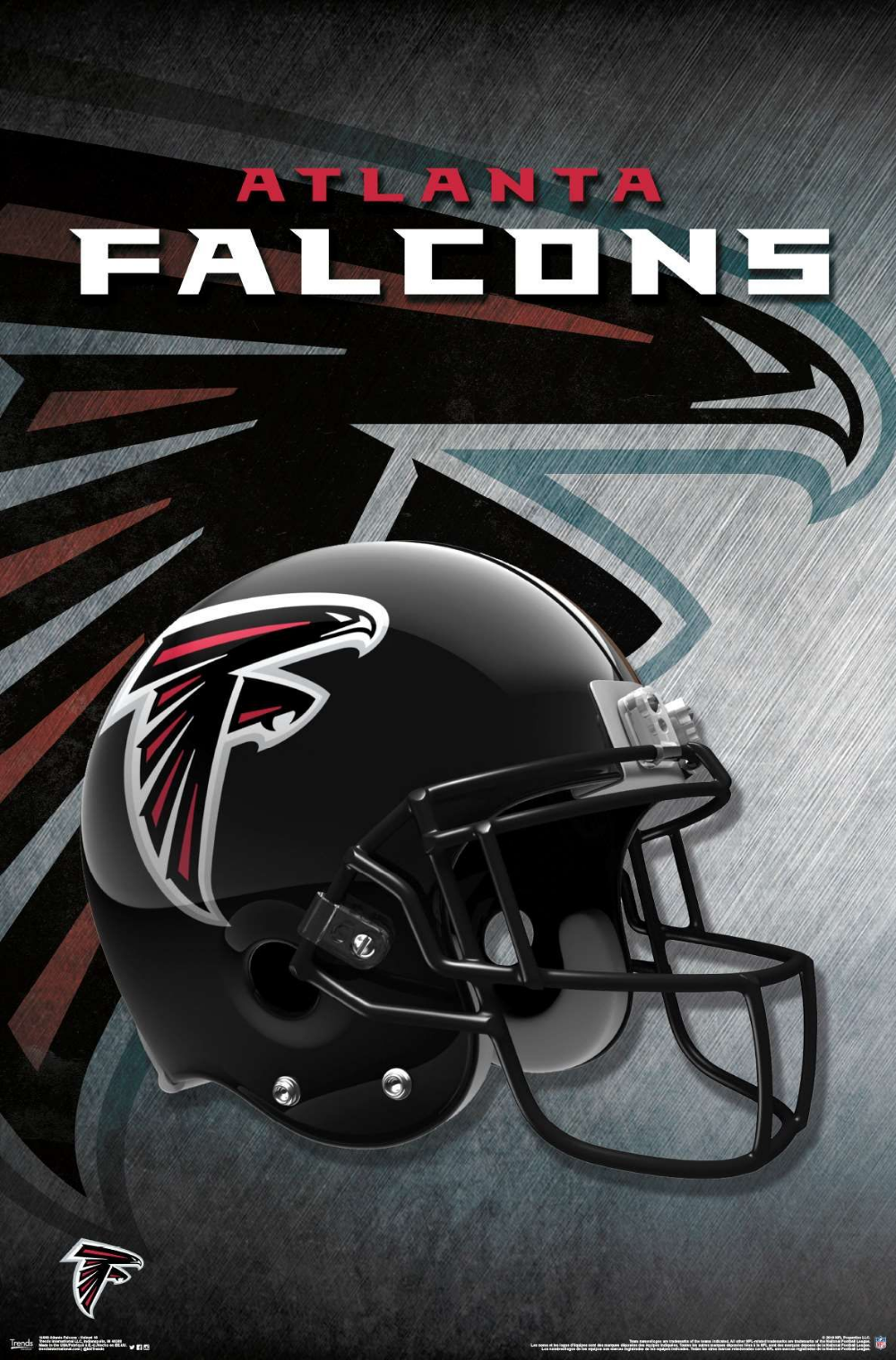 Atlanta Falcons Helmet Atlantafalcons Nflfootball Nfl Footballposter Footballpartydecoratio Atlanta Falcons Helmet Falcons Helmet Atlanta Falcons Poster