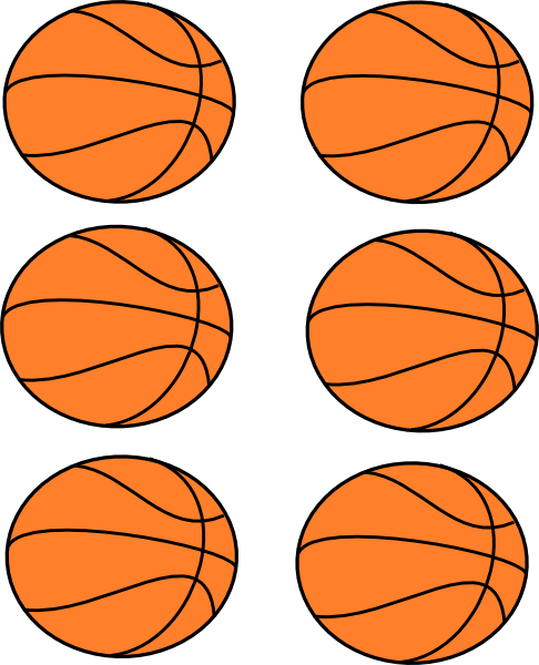 Vector Clip Art Online Royalty Free Public Domain Basketball Clipart Basketball Party Basketball Birthday Parties
