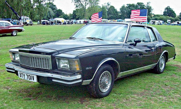 1979 Chevrolet Monte Carlo 3rd Generation With 5 0l V8 Engine