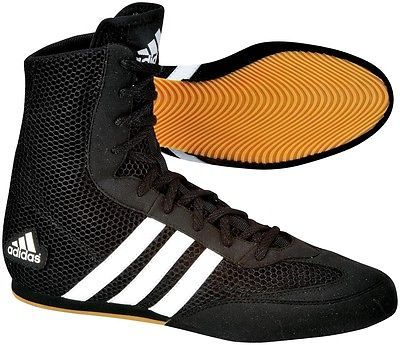 #Adidas box hog #boxing boots #sizes 4uk - 13uk black/white stripes,  View more on the LINK: 	http://www.zeppy.io/product/gb/2/271245637428/