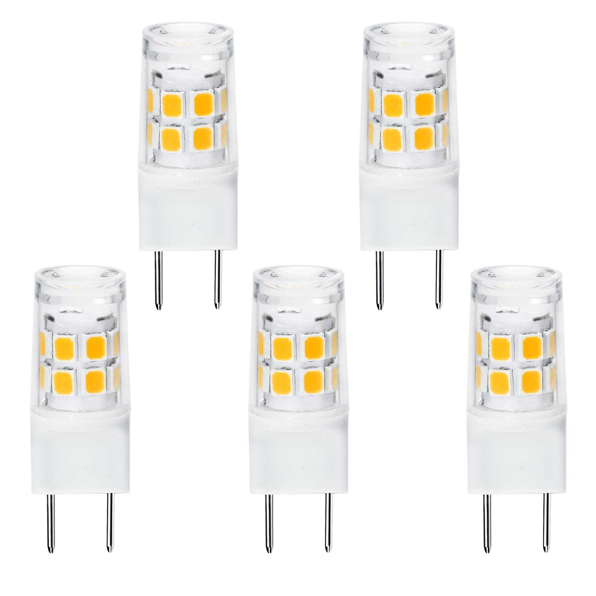 Led G8 Light Bulb G8 Gy8 6 Bipin Base Led Not Dimmable T4 G8 Base Bipin Xenon Jcd Type Led 120v 50w Halogen Replacement Bulb For Under Co Light Bulb Bulb Light