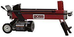 Boss Industrial Ec5t20 Electric Log Splitter 5 Ton Log Splitter Electric Logs Log Splitters