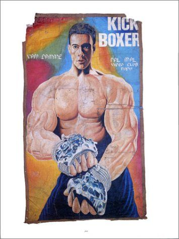 Extreme Canvas Hand Painted Movie Posters From Ghana