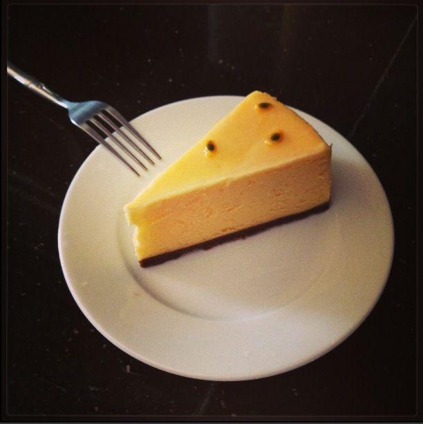 Passion cheesecake >_
