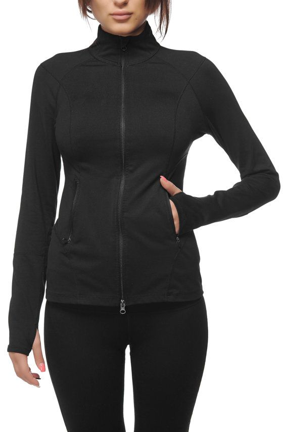 Alinamalina Slim Fit Jacket with Pockets  Long by AlinamalinaShop